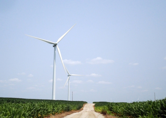 Route 66 Odell wind farm 25a