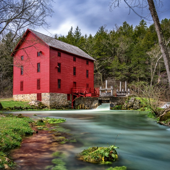 Photo Alley Springs Mill