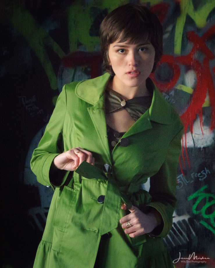 Anastasia's Green Coat