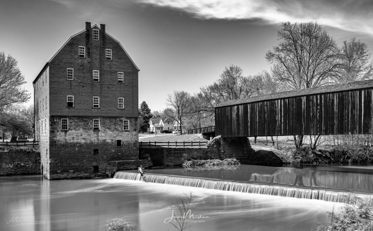 Photo of Bollinger Mill and Covered Bridge