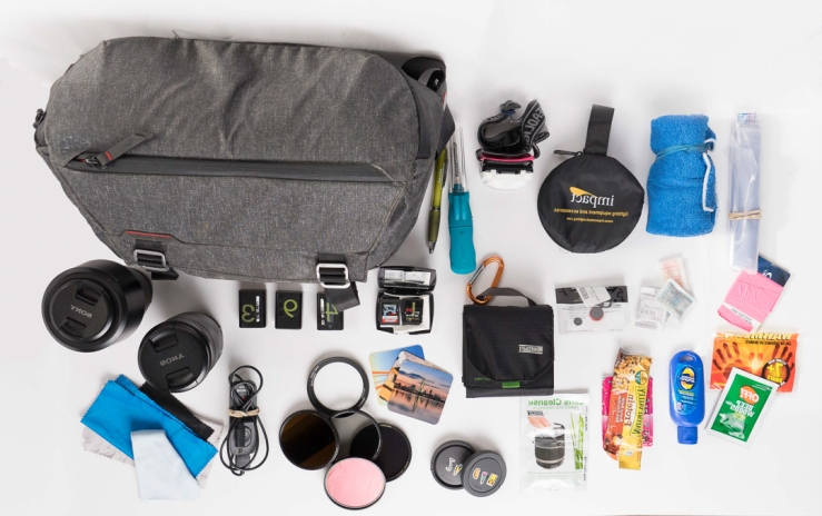 Photo What's in my Sling camera bag