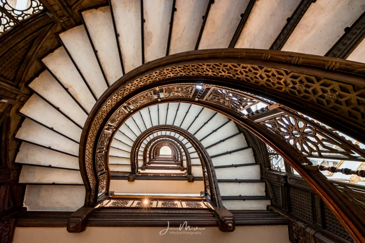 Photo Rookery stairs in Chicago