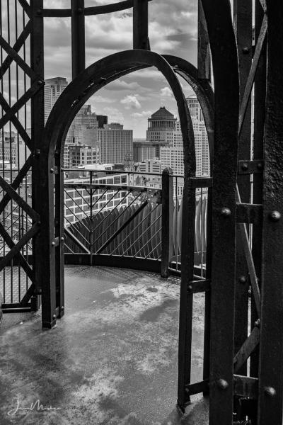 Photo Doorway to the City