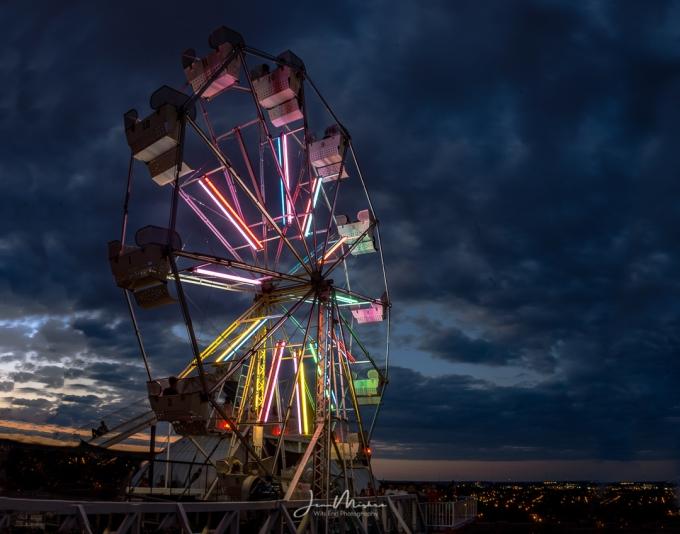 Photo Wheel on City