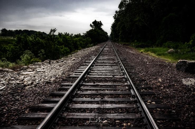 Photo A Railroad Runs Through It