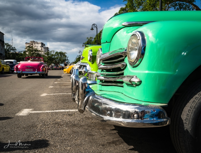 Photo Colorful classic Cars