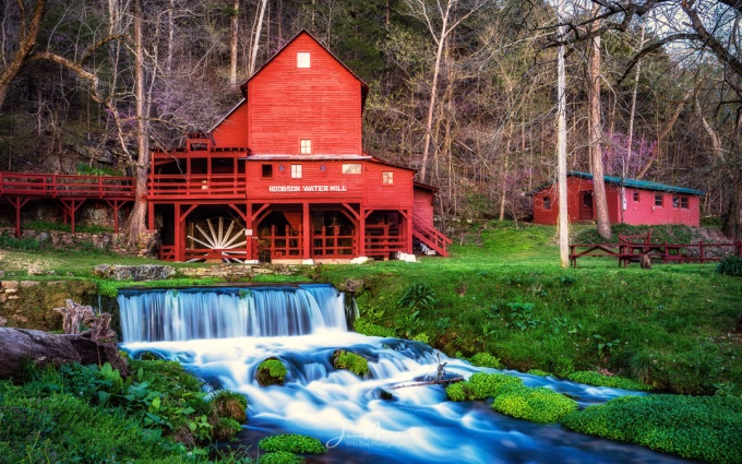 Photo of Hodgson water mill