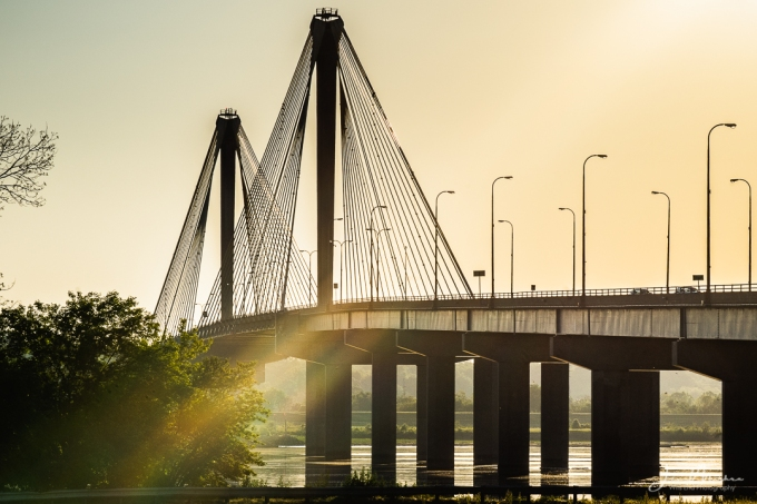 Photo Clark Bridge Sunbow