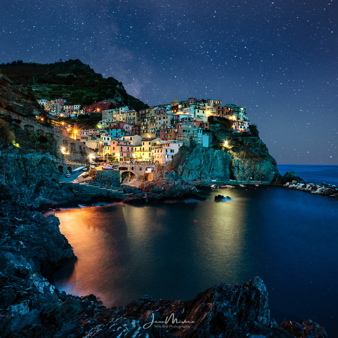 Photo Manarola Night