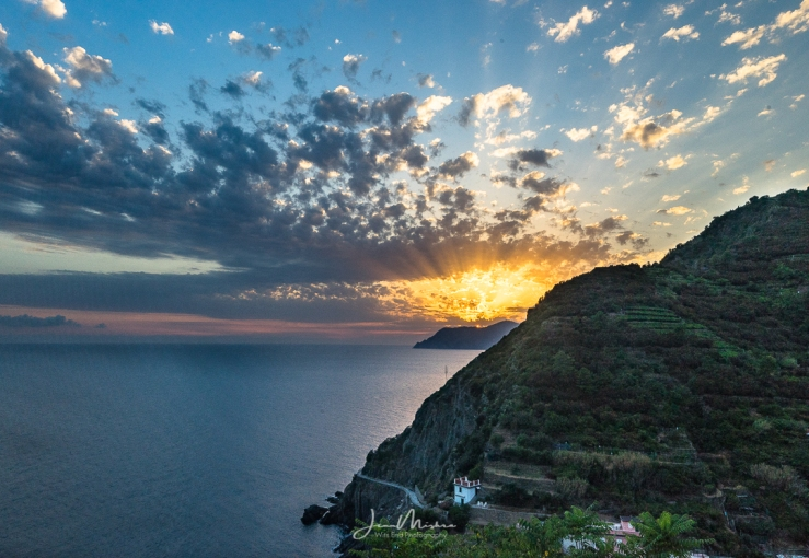 Photo Italian Sunset