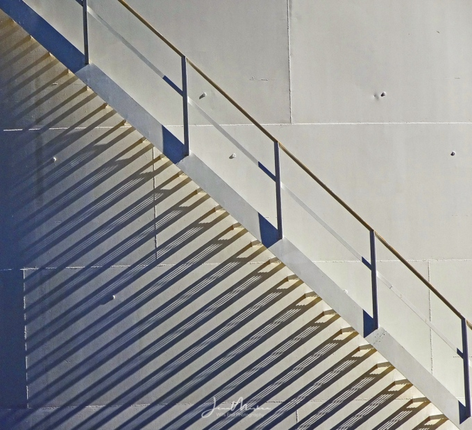 Photo Stairs and Shadows