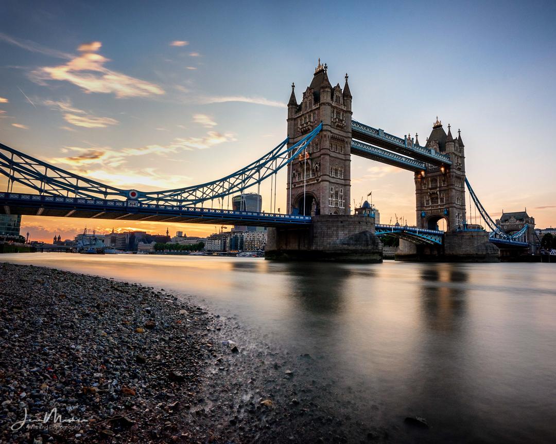 Photo Tower Bridge Sunset