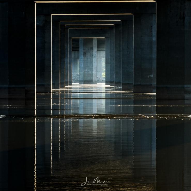 Photo Under Clark Bridge