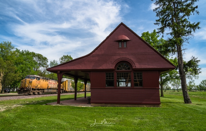 Photo Train Depot in Wayne