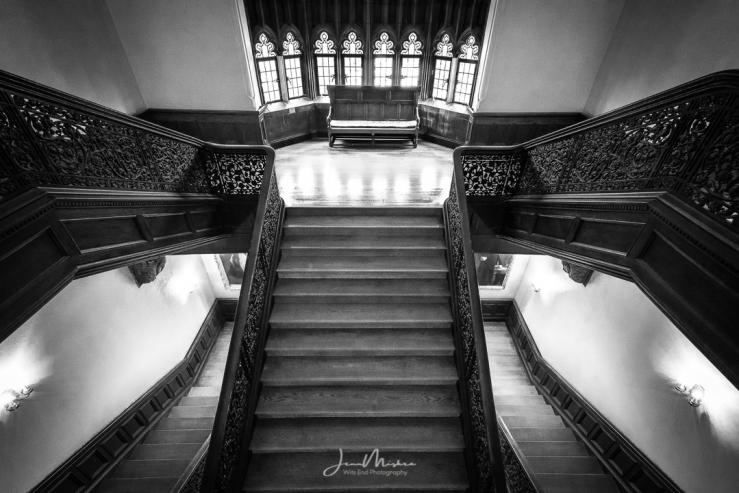 Photo Ida Noyes Hall Staircase