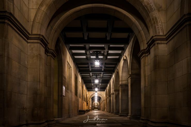 Photo University at Night