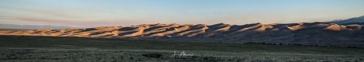 Photo Sand Dunes Panorama