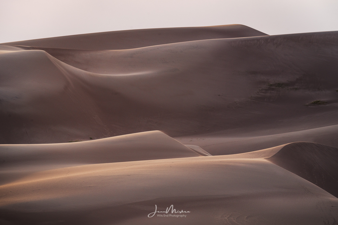 Photo Dunes in Abstract