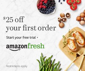 Ad Amazaon Fresh