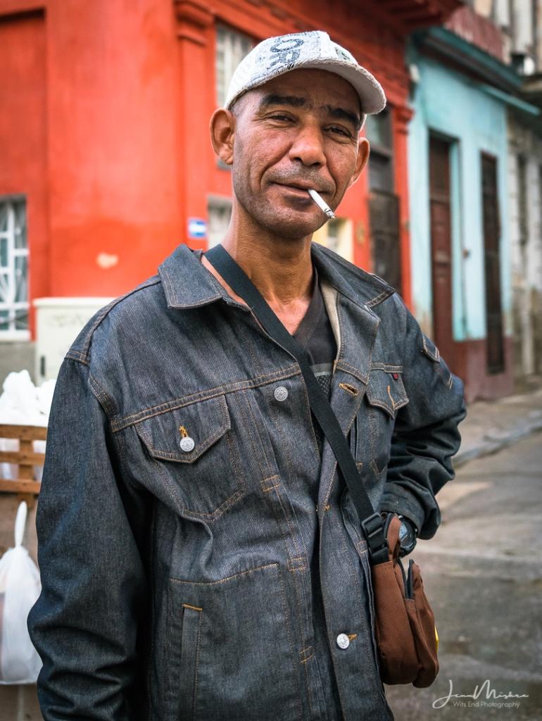 Photo Cuban Street Portrait