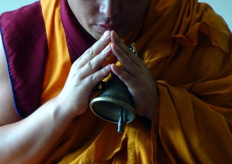 Photo Tibetan Monk