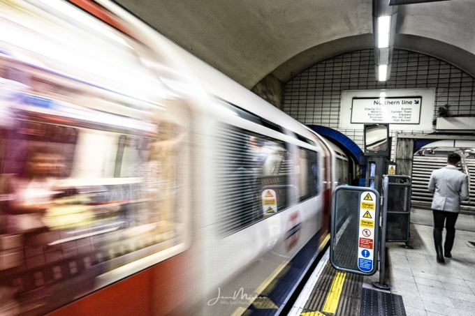 Photo On the Northern Line