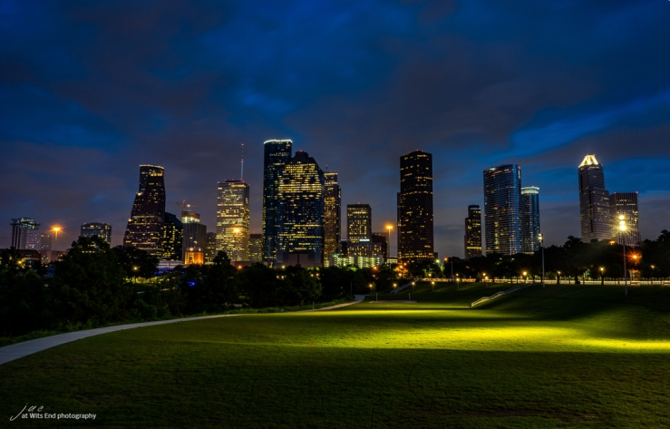 Photo Houston at Night