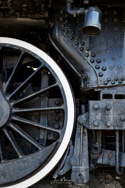 Photo Train Wheel