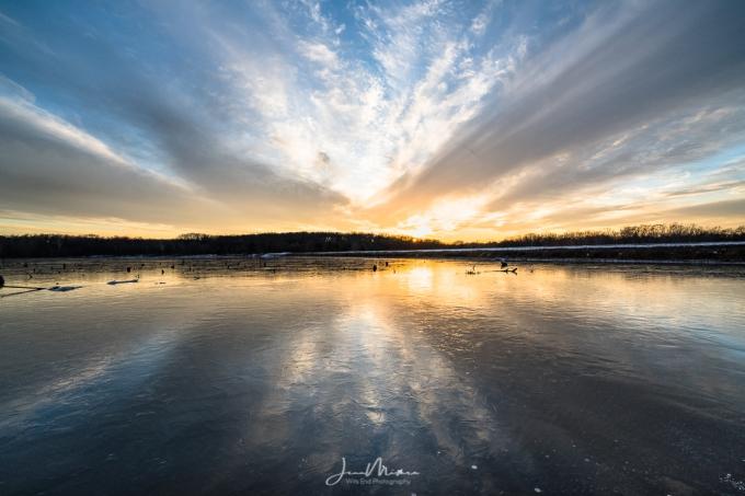 Photo Clouds at Sunrise.
