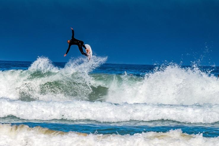 Photo Fistral Beach Surfer