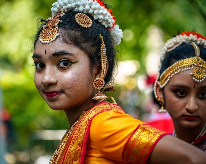 Photo Indian dancer