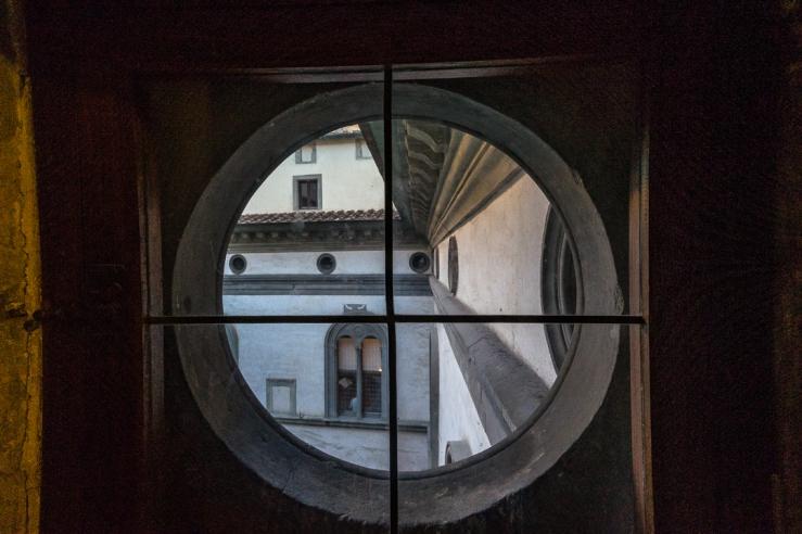 Round window Palazzo Vecchio