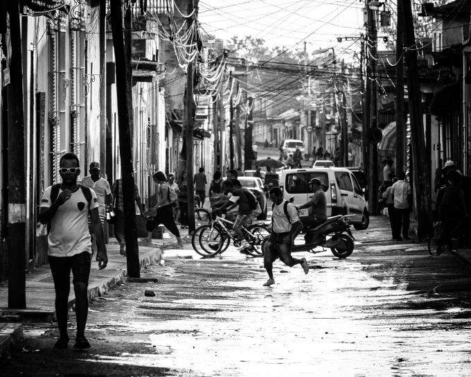 Photo Street Trinidad Cuba