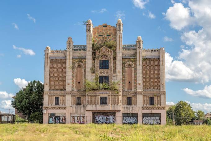 Photo abandoned building east st. louis