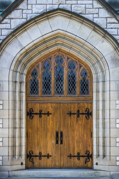 photo church door