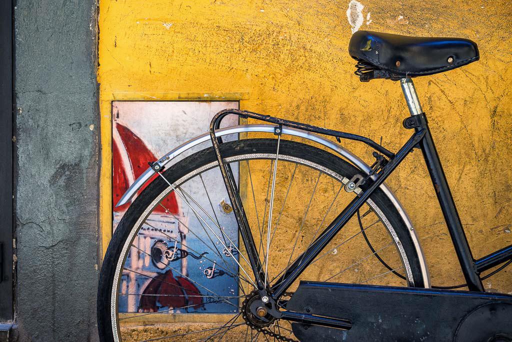 Artistic Graffiti and; Bike
