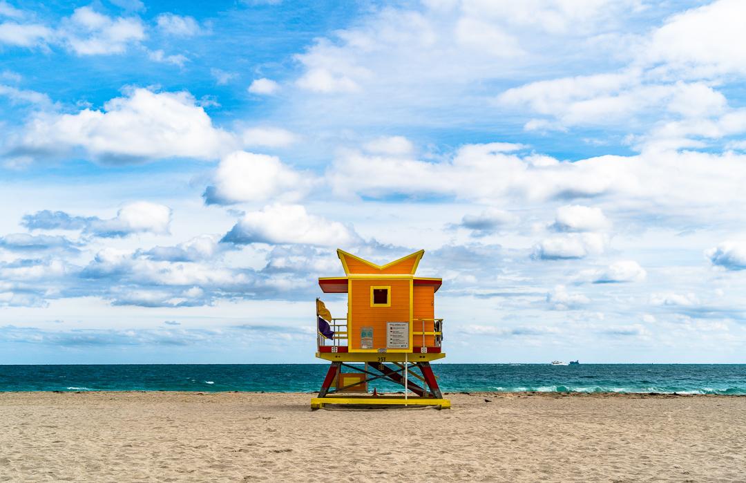 Miami Beach Lifeguard Tower - 3rd Street