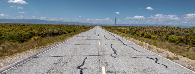 Southern Colorado road
