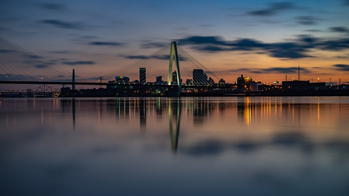 St. Louis cityscape