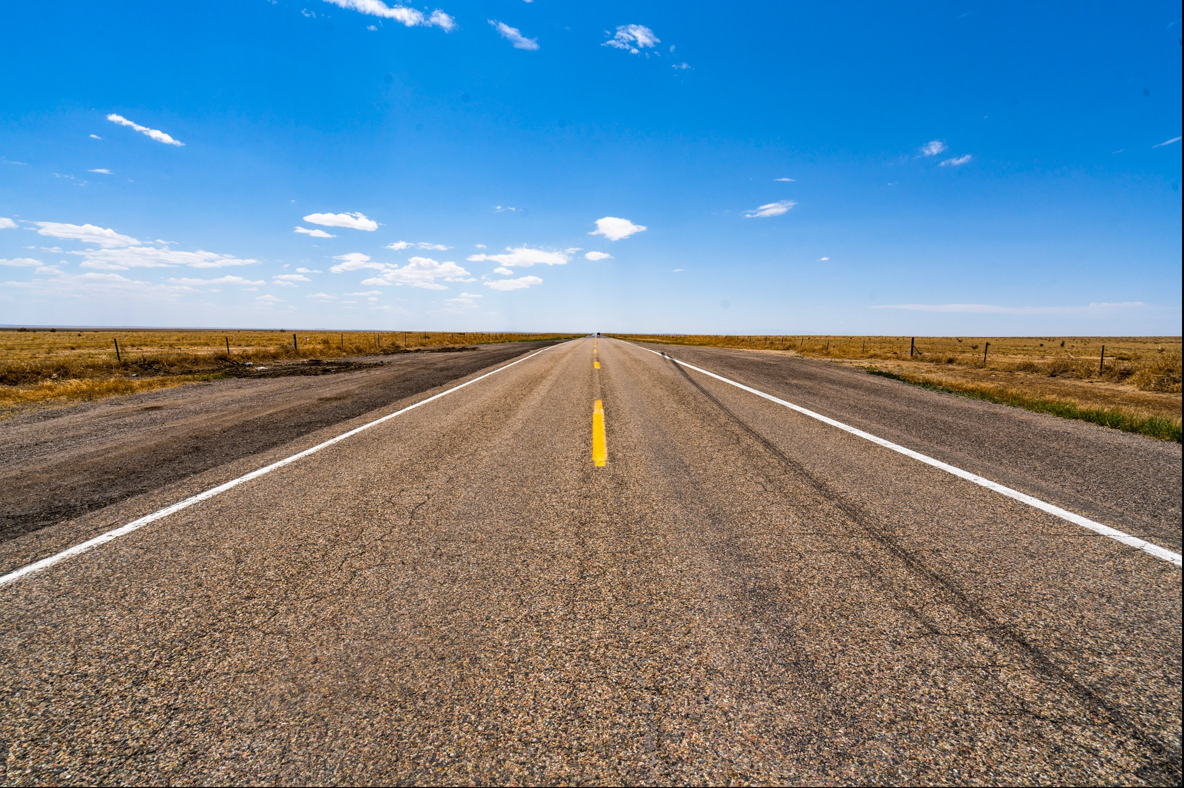 Road in southern Colorado