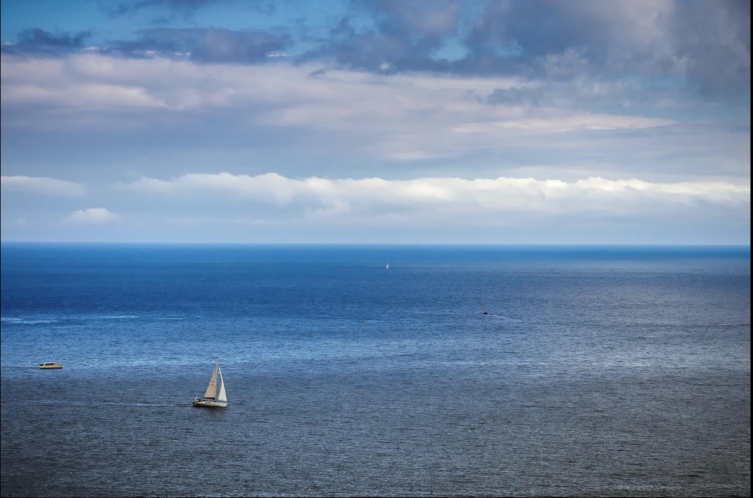 Sailboat on Loch Lomand, Scotland