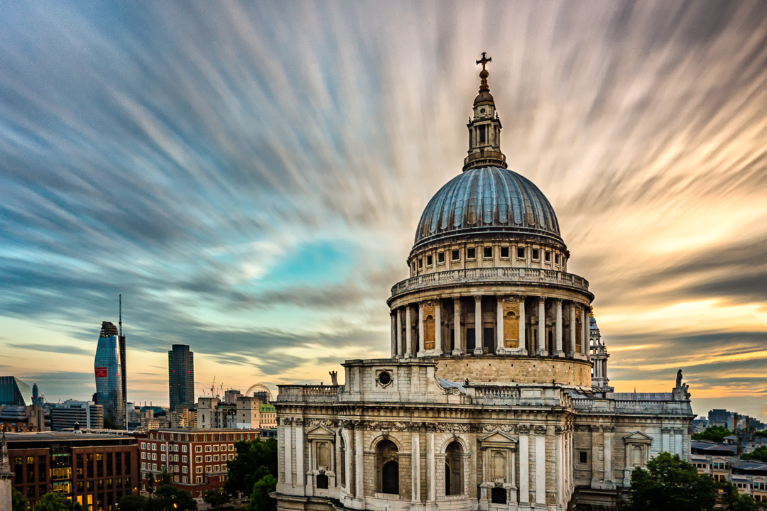 St Paul's Cathedral from One New Change. London, England